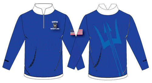 Davis Sublimated Quarter Zip