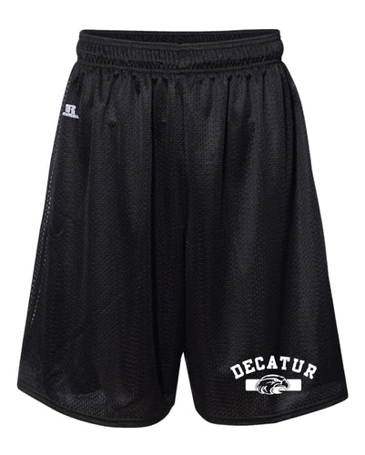 Decatur Russell Athletic Tech Shorts - Black - 5KounT2018