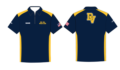 Del Val Wrestling Sublimated Polo - 5KounT2018