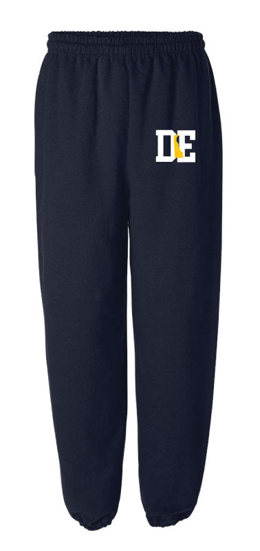 Delaware Cotton Sweatpants - Navy - 5KounT