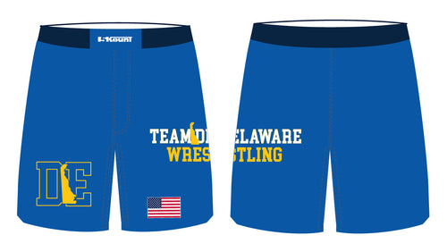 Delaware Sublimated Fight Shorts - 5KounT