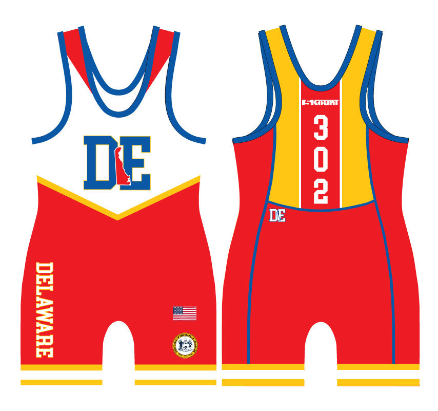 Delaware Sublimated Singlet 2 - 5KounT