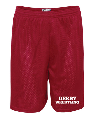 Derby HS Tech Shorts - Red
