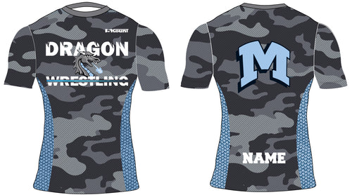 Middletown Dragons Sublimated Compression Shirt