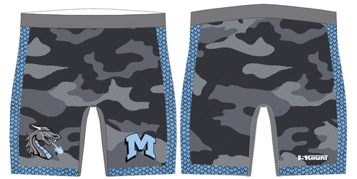 Middletown Dragons Sublimated Compression Shorts