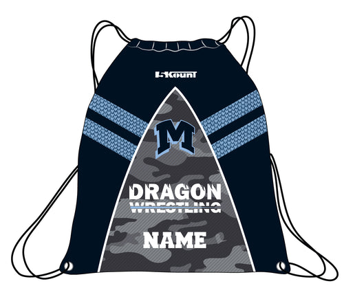 Middletown Dragons Sublimated Drawstring Bag