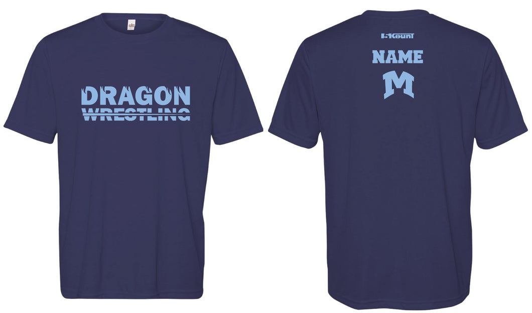 Middletown Dragons Sublimated DryFit Performance Tee - 5KounT