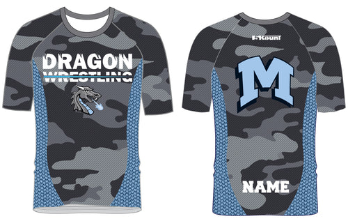 Middletown Dragons Sublimated Fight Shirt