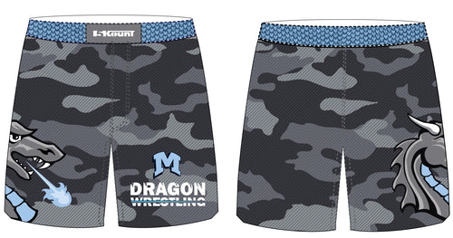 Middletown Dragons Sublimated Fight Shorts