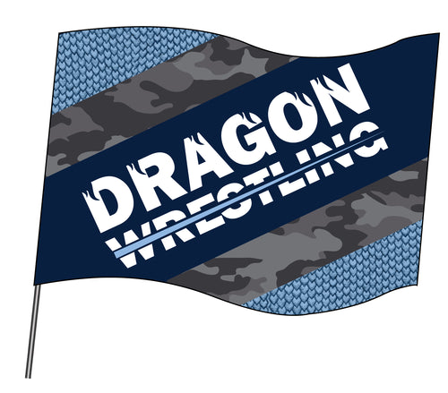 Middletown Dragons Sublimated Flag