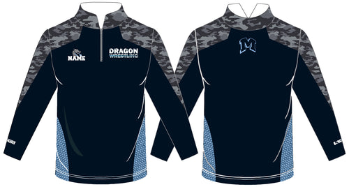 Middletown Dragons Sublimated Quarter Zip