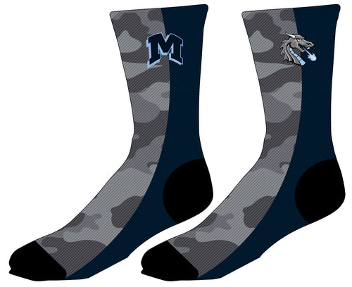 Middletown Dragons Sublimated Socks