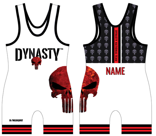 Dynasty 2018 Sublimated White Singlet