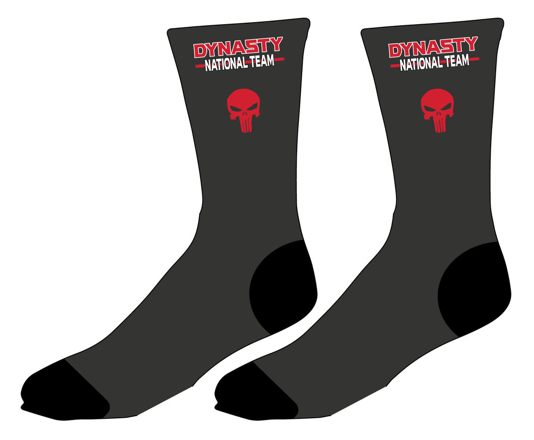 Dynasty Wrestling Sublimated Socks - 5KounT2018