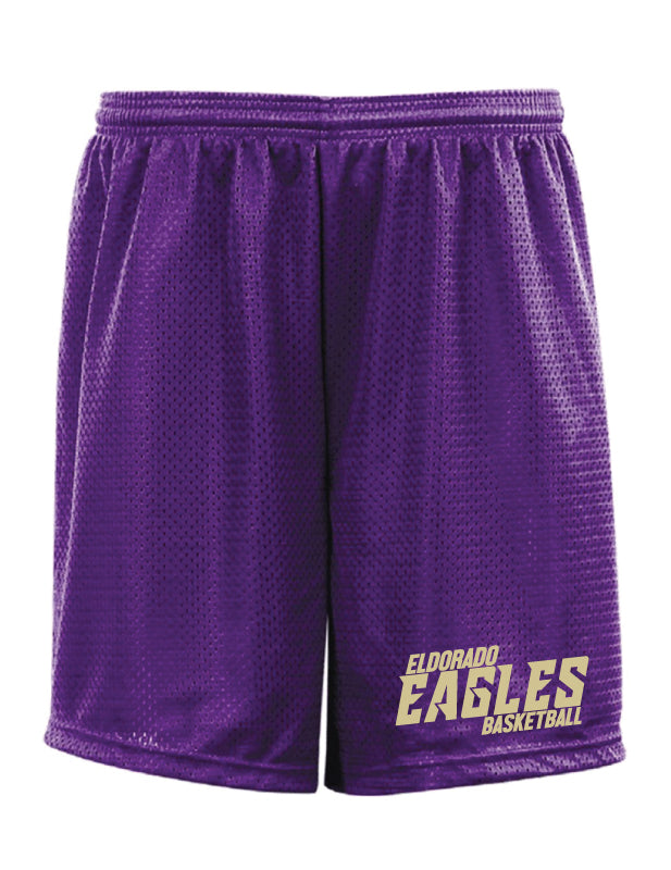 Eldorado Tech Shorts - Purple - 5KounT