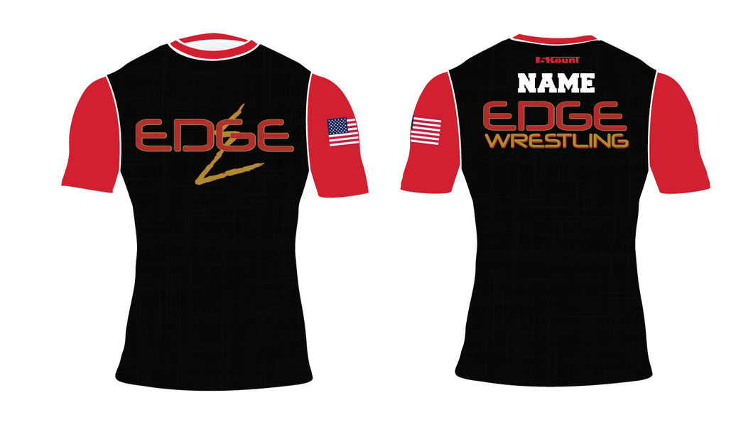 Edge Wrestling Sublimated Compression Shirt