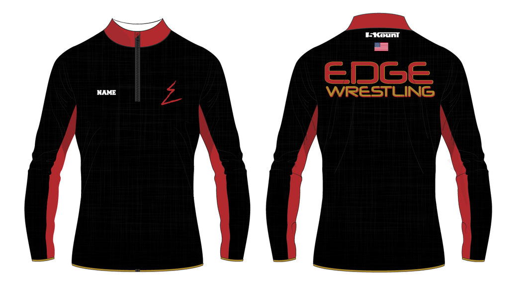 Edge Wrestling Sublimated Quarter Zip - 5KounT