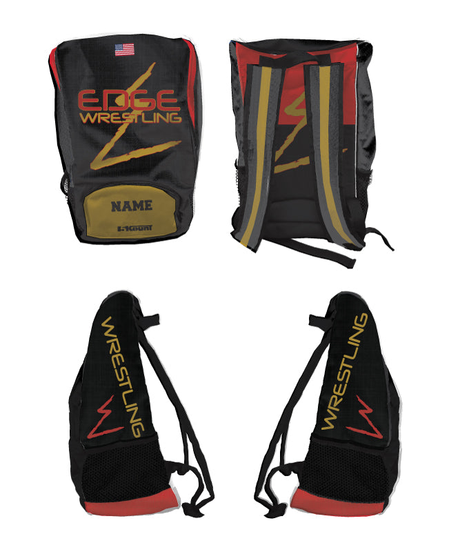 Edge Wrestling Sublimated Backpack - 5KounT
