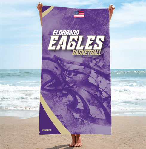 Eldorado Sublimated Beach Towel - 5KounT2018