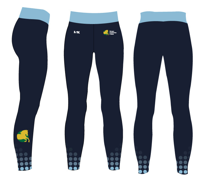 Bergen Equestrian Sublimated Ladies Legging