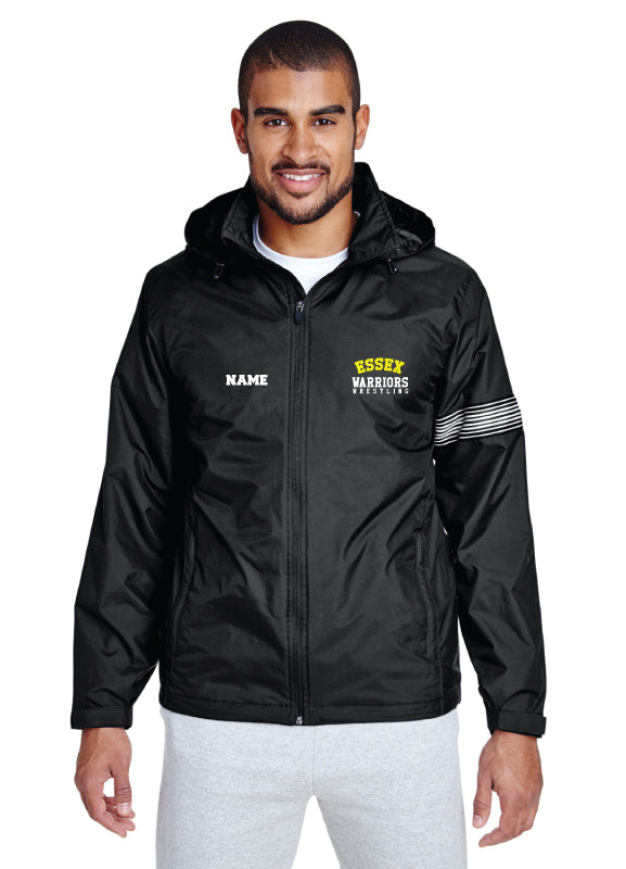 Essex Wrestling All Season Hooded Jacket - Black - 5KounT2018