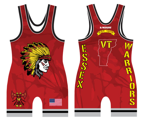 Essex Wrestling Sublimated Singlet 2