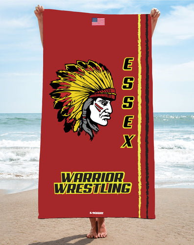 Essex Wrestling Sublimated Beach Towel