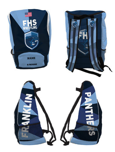 Franklin HS Wrestling Backpack