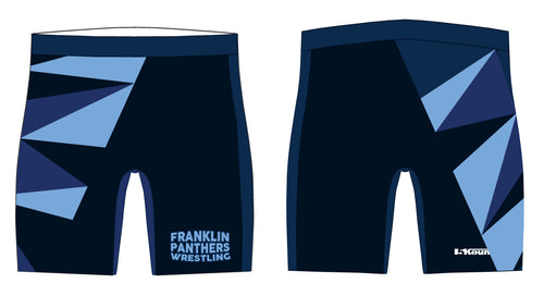 Franklin HS Wrestling Sublimated Compression Shorts