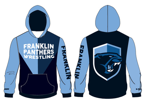 Franklin HS Wrestling Sublimated Hoodie