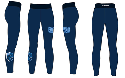 Franklin HS Wrestling Sublimated Ladies Legging