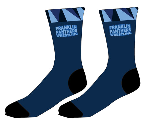 Franklin HS Wrestling Sublimated Socks