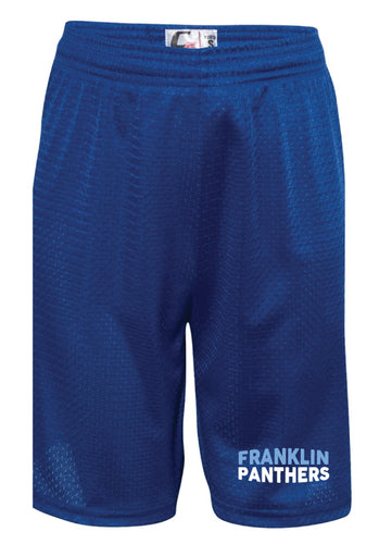 Franklin HS Wrestling Tech Shorts - Royal