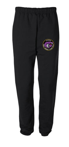 Fort Pierce Cobras Wrestling Cotton Sweatpants - Black - 5KounT