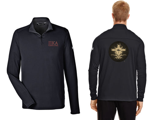 FSU Pike Fraternity Under Armour Under Armour Men's UA Tech™ Quarter-Zip - Black v2 - 5KounT2018
