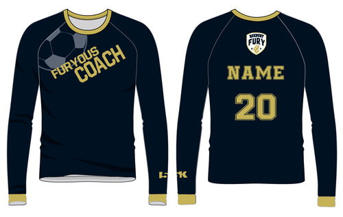FURY Special Edition Sublimated COACH Shirt - Long Sleeve - 5KounT2018