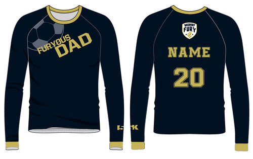 FURY Special Edition Sublimated DAD Shirt - Long Sleeve - 5KounT2018