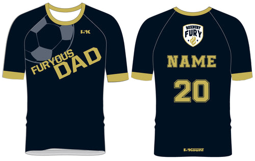FURY Special Edition Sublimated DAD Shirt - Short Sleeve - 5KounT2018