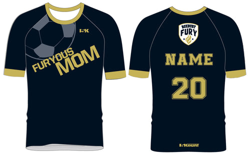 FURY Special Edition Sublimated MOM Shirt - Short Sleeve - 5KounT2018