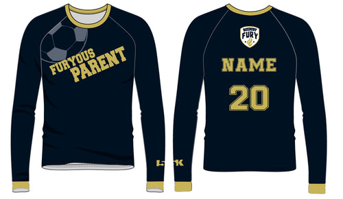 FURY Special Edition Sublimated PARENT Shirt - Long Sleeve - 5KounT2018