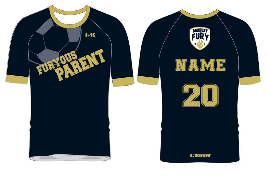 FURY Special Edition Sublimated PARENT Shirt - Short Sleeve