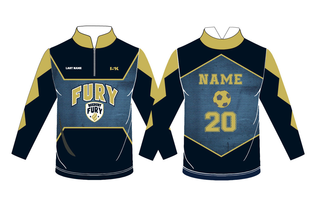 FURY Soccer Sublimated Quarter Zip