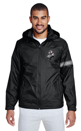 Fitchburg Youth Wrestling All Season Hooded Jacket - Black