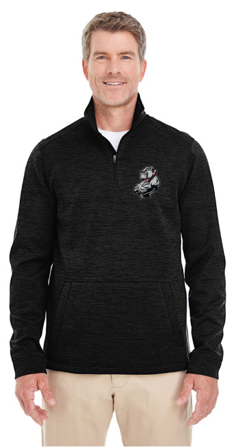 Fitchburg Youth Wrestling Men's Fleece Quarter Zip - Black