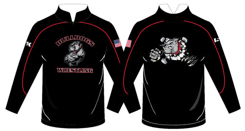 Fitchburg Youth Wrestling Sublimated Quarter Zip