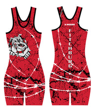 Fitchburg Youth Wrestling Women Sublimated Singlet - Red
