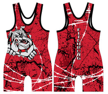 Fitchburg Youth Wrestling Sublimated Singlet - Red