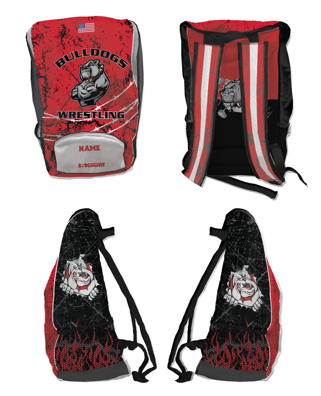 Fitchburg Youth Wrestling Sublimated Backpack