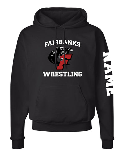 Fairbanks HS Wrestling Cotton Hoodie