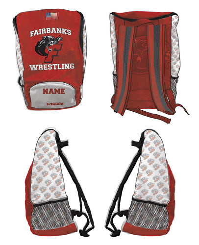 Fairbanks HS Wrestling Sublimated Backpack